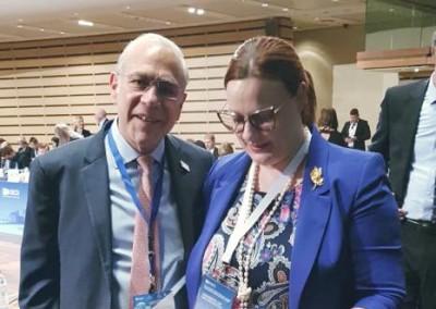 Na ministerskom zasadnutí OECD s generálnym tajomníkom Angel Gurría